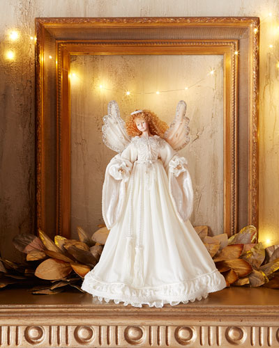 Snow Queen Angel Tree Topper