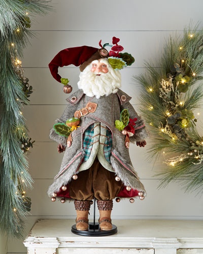 "Finley Forester 32"" Santa Doll"
