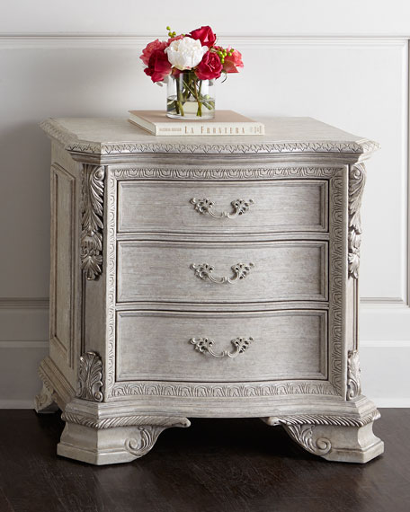 Camilla Three Drawer Nightstand
