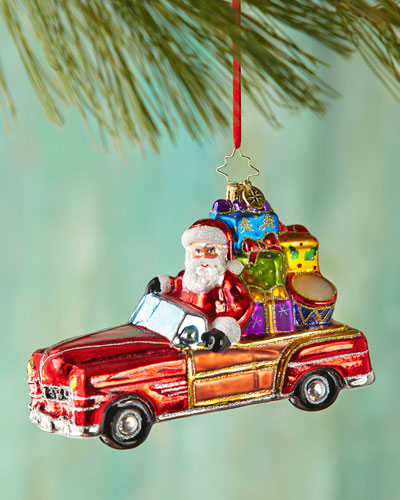 Vintage Ride Christmas Ornament