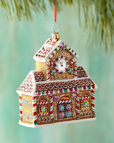 Candy Station Christmas Ornament
