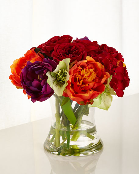John-Richard Collection Gather a Bouquet Faux-Floral Arrangement