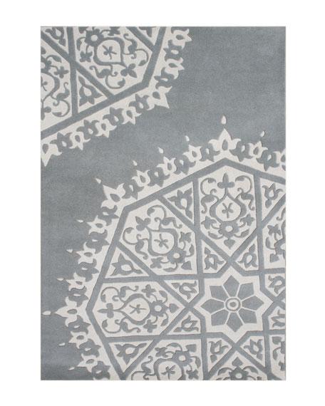 Pinwheel Rug, 5' x 8'