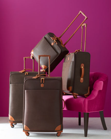 """Brown MyLife 32"""" Spinner Luggage"""