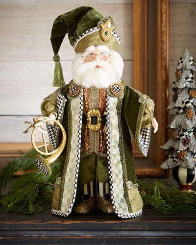 Evergreen Santa