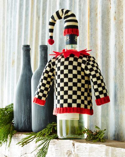 Jack-in-the-Box Bottle Sweater & Cap