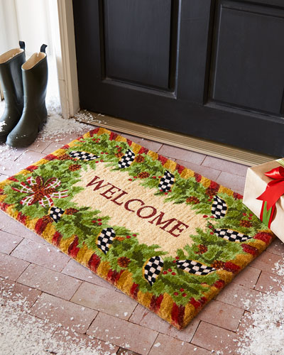 Evergreen Entrance Mat