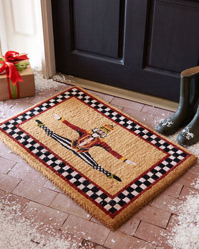Dancing Nutcracker Entrance Mat