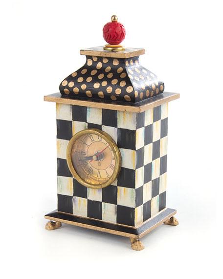 MacKenzie-Childs Zig Zag Desk Clock