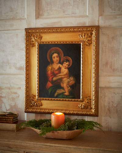 """Murillo"" Madonna & Child Painting"