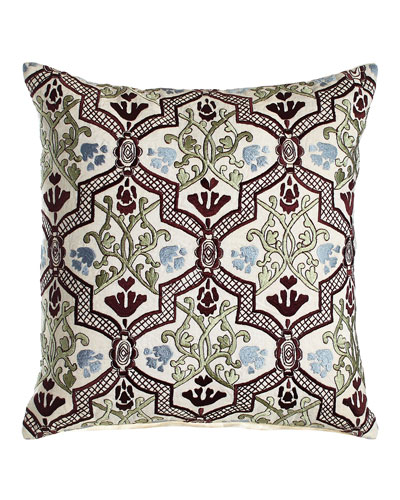 Hidden Garden Trellis Pillow