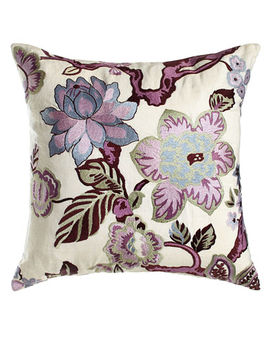 Hidden Garden Floral Pillow