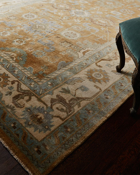 Morning Light Oushak Rug, 9' x 12'
