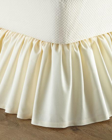 Queen Ivory Dakota Dust Skirt