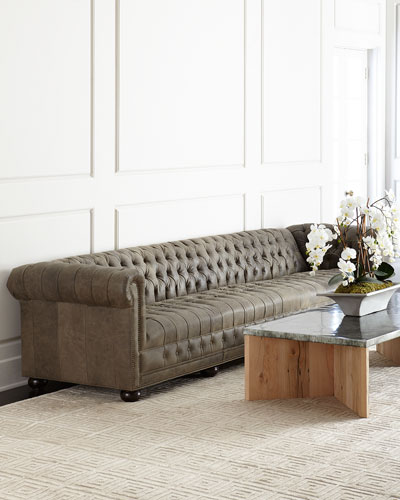 Wiley Leather Sofa