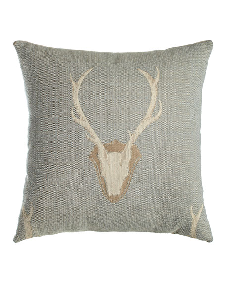 D.V. Kap Home Forester Deer Pillow