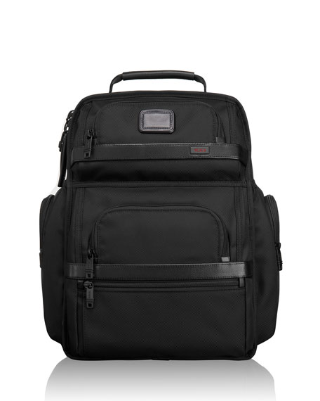 TUMI Alpha 2 Black Business Class Brief Pack