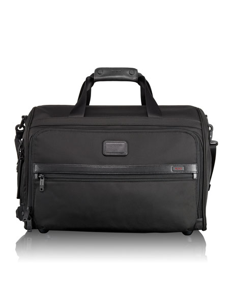TUMI Alpha 2 Black Framed Soft Duffel Luggage