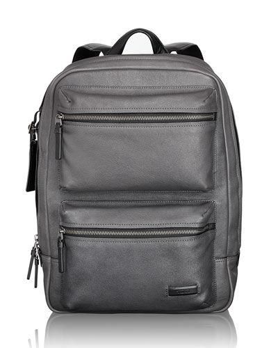 Mission Iron Bryant Leather Backpack