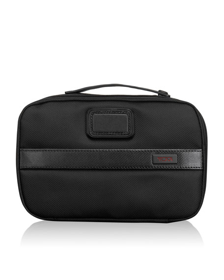 TUMI Alpha 2 Black Split Travel Kit