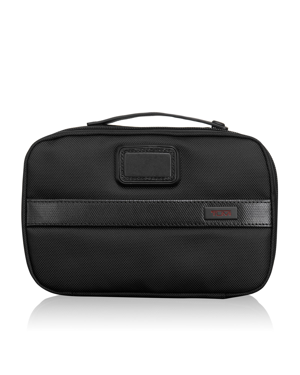 d364c9af77fe TUMI Alpha 2 Black Split Travel Kit