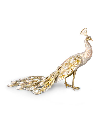 Limited Edition Grand Peacock Figurine