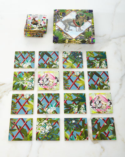 Jungle Leo Memory Game & Puzzle