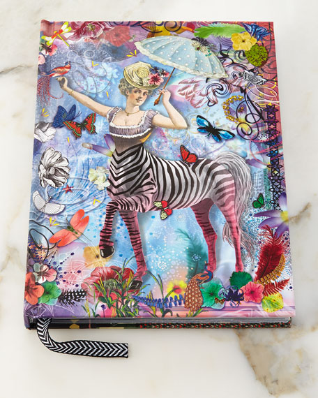 Zebra Girl Hardbound Journal