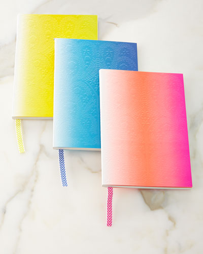 Christian Lacroix Neon Paseo Notebooks, 3-Piece Set