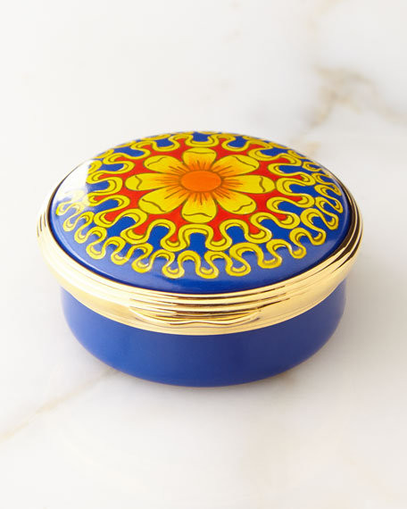 Halcyon Days The Chapel Royal Enamel Box