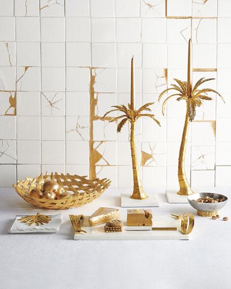 Palm Dinner Napkin Holder