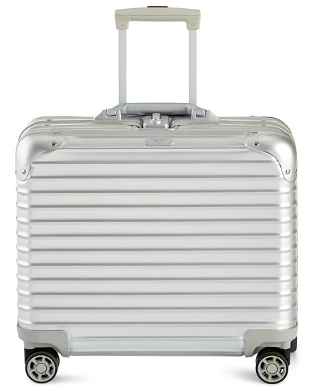 Rimowa North America Topas Silver Business Multiwheel Luggage
