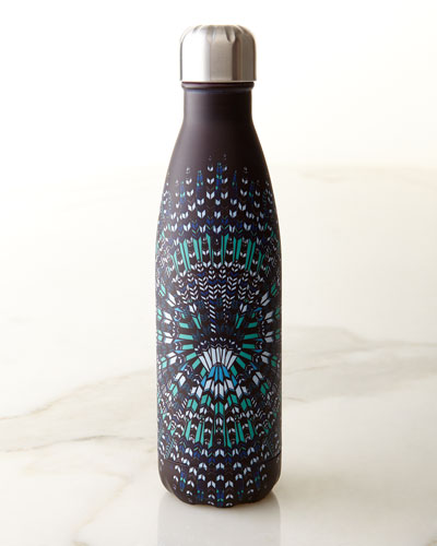 Mara Hoffman Blue Feathers 17-oz. Reusable Bottle