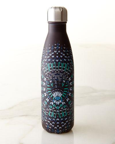 Mara Hoffman Blue Feathers 17-oz. Reusable Bottle