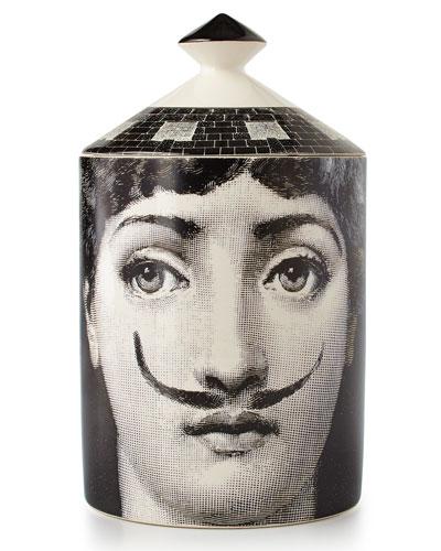 Neimanmarcus Fornasetti Moustache Single-Wick Scented Candle