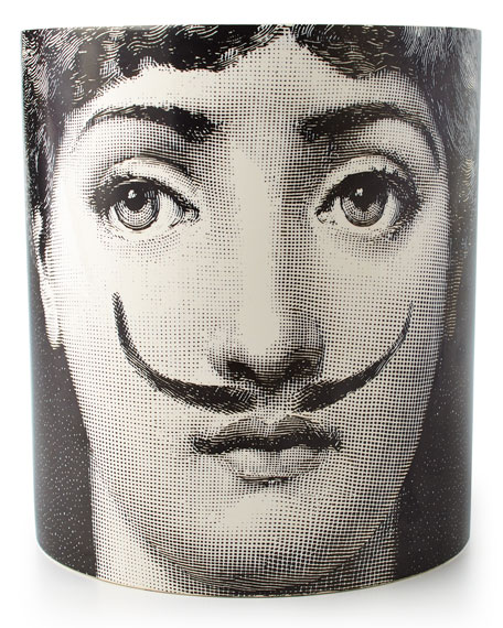 Fornasetti Moustache Large Three-Wick Scented Candle