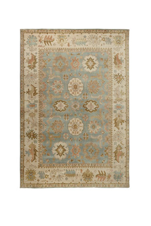Exquisite Rugs Lunden Oushak Rug, 10' x 14'