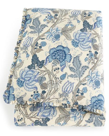 King Iris Floral Duvet Cover