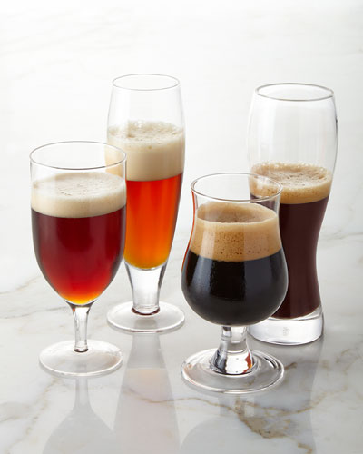 Brewmaster Glasses, 4-Piece Set