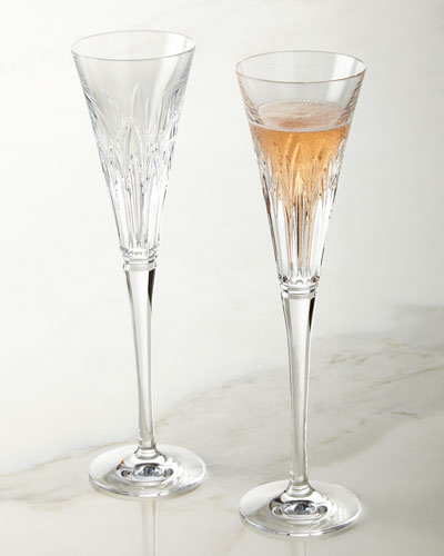 Pair of Times Square Wonder Flutes