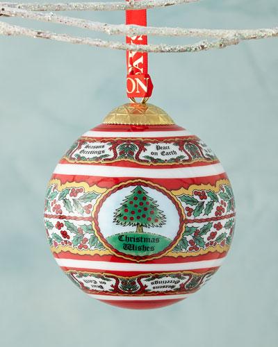 """Vintage Christmas Tree"" Christmas Ornament"
