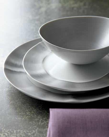 12-Piece Platinum Brushstroke Dinnerware Service