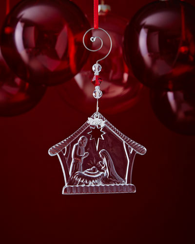 Nativity Holy Family Christmas Ornament