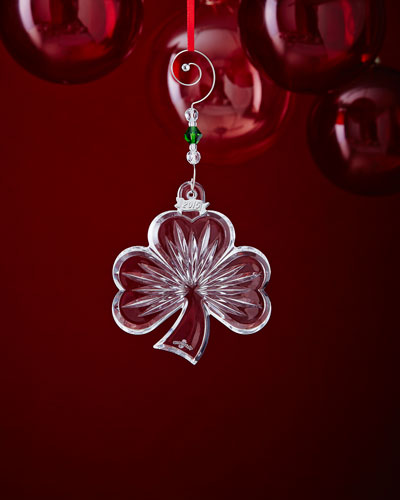 Shamrock Christmas Ornament