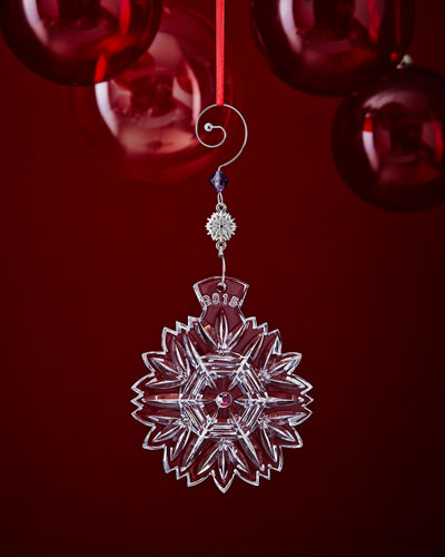 Snowflake Wishes 2015 Christmas Ornament