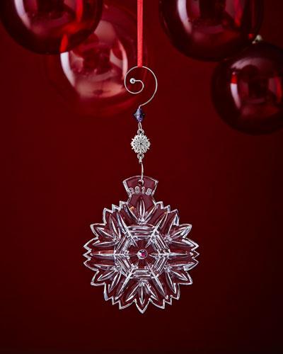 Snowflake Wishes 2015 Christmas Ornament