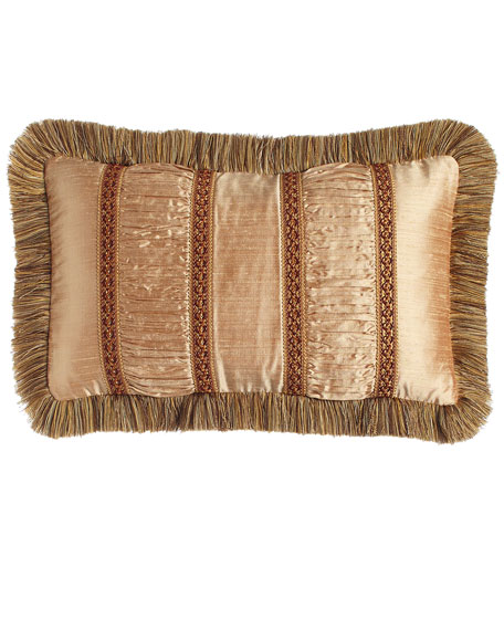 Dian Austin Couture Home Mediterrane Pillow with Ruched