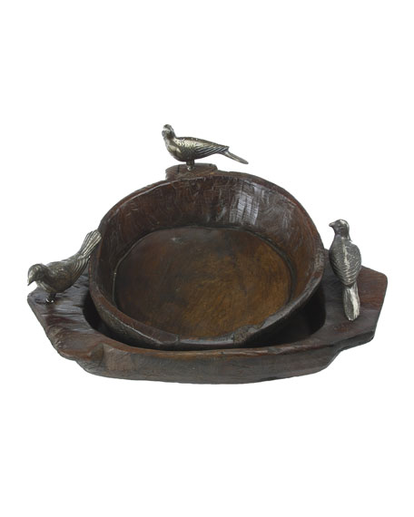 Primitive Two-Bird Bowl