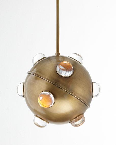 Jonathan adler globo 1 light pendant aloadofball Image collections