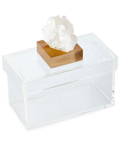 Natural Quartz Small Storage Box